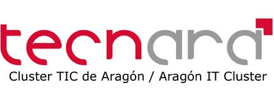 Logo Tecnara-Cluster TIC de Aragón